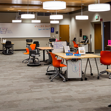 Inside the SCC Tutoring Center